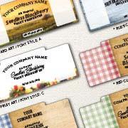Spring Creek Foods custom label designs